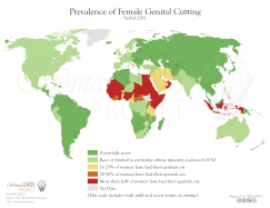 Genitalmutilation_Karte_Verbreitung