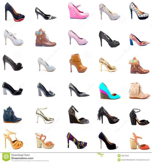 shoes-stockcollage-25972028