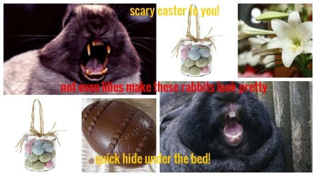 scary easter with text 154899756131513216